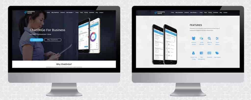 Corporate Internal Communication App-Web