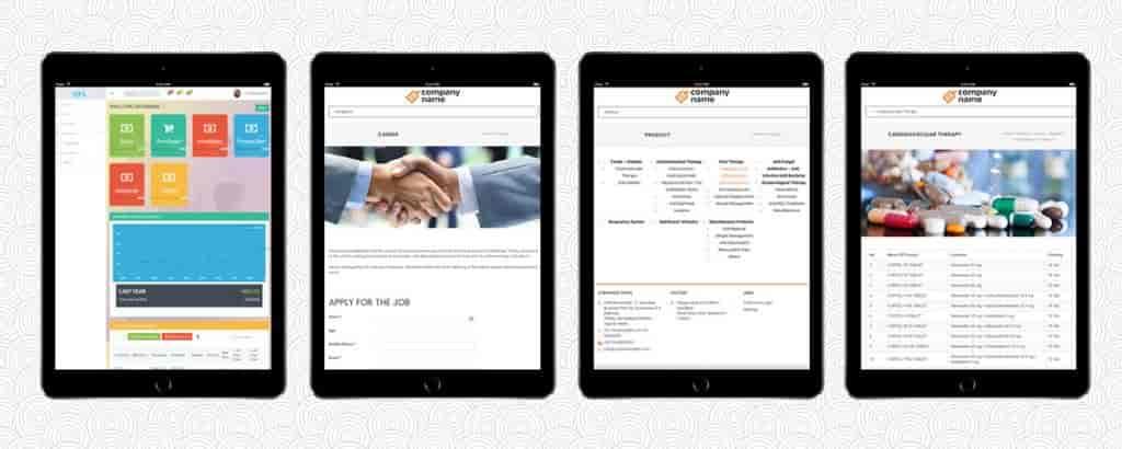SaaS based ERP Application-Ap-Tablet