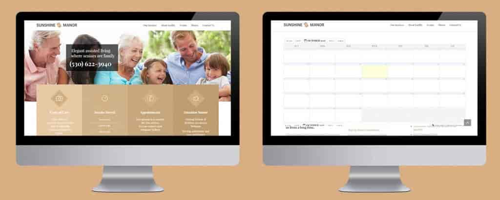 Senior Living Property Management Application-Web