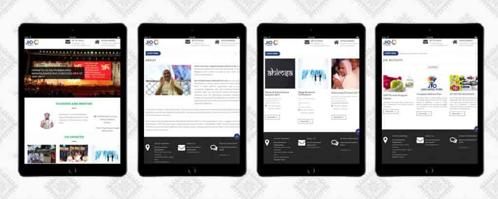 Social Networking Application with B2B eCommerce-Tablet