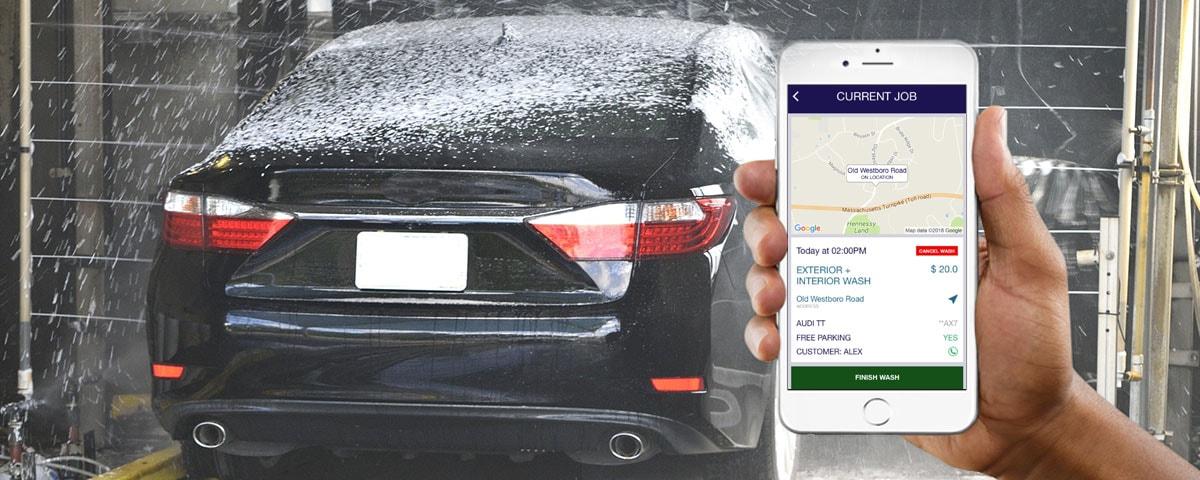 Car Washing Booking iOS Application