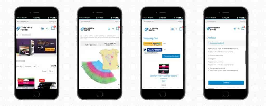 Enterprise B2B eCommerce Application-Mobile