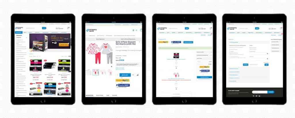 Enterprise B2B eCommerce Application-Tablet