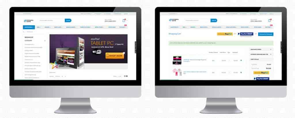 Enterprise B2B eCommerce Application-Web