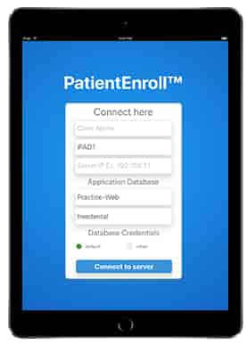 Patient Registration & Consulting iPad iOS App integrated with EMR-Login