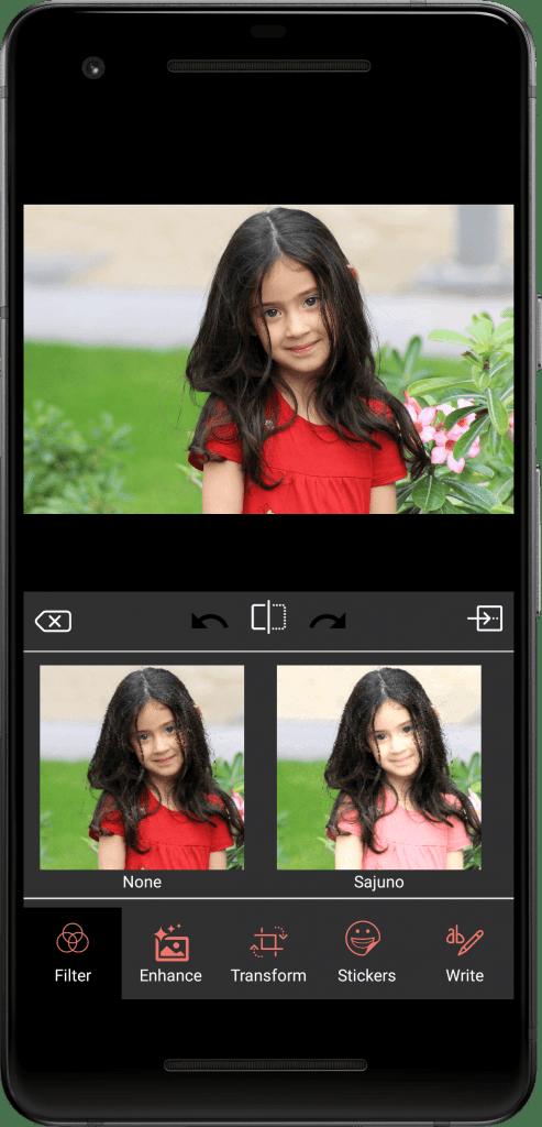 Photo Editing & Enhancing Application-android-phone-filter