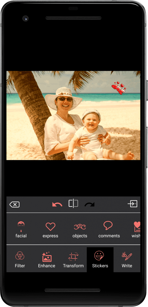 Photo Editing & Enhancing Application-android-phone-sticker