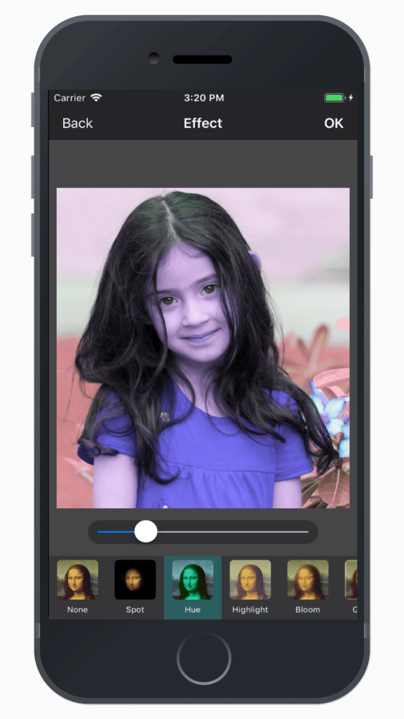 Photo Editing & Enhancing Application-iphone-effect