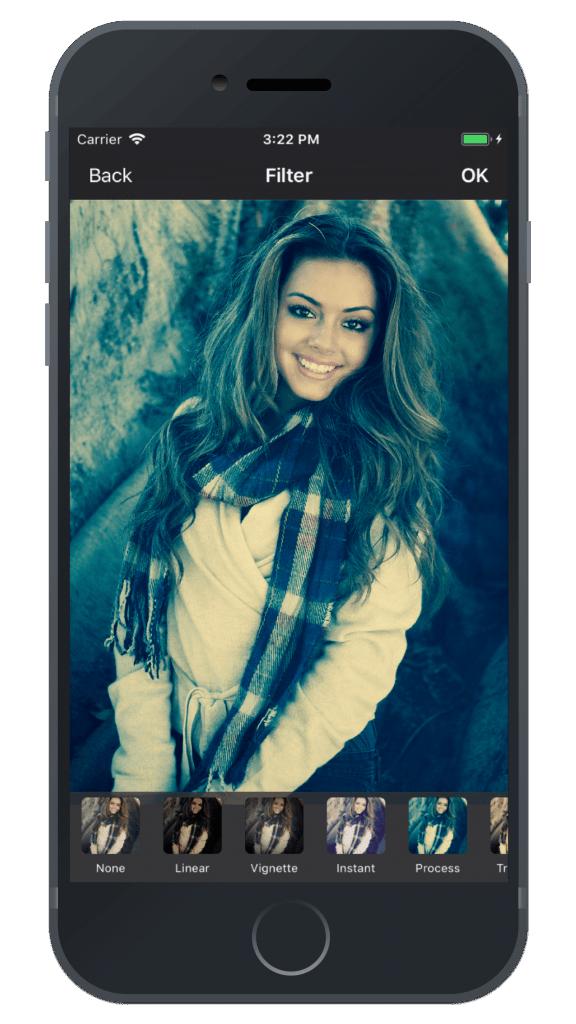 Photo Editing & Enhancing Application-iphone-filter