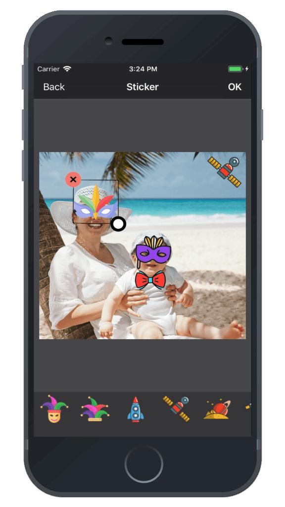 Photo Editing & Enhancing Application-iphone-sticker