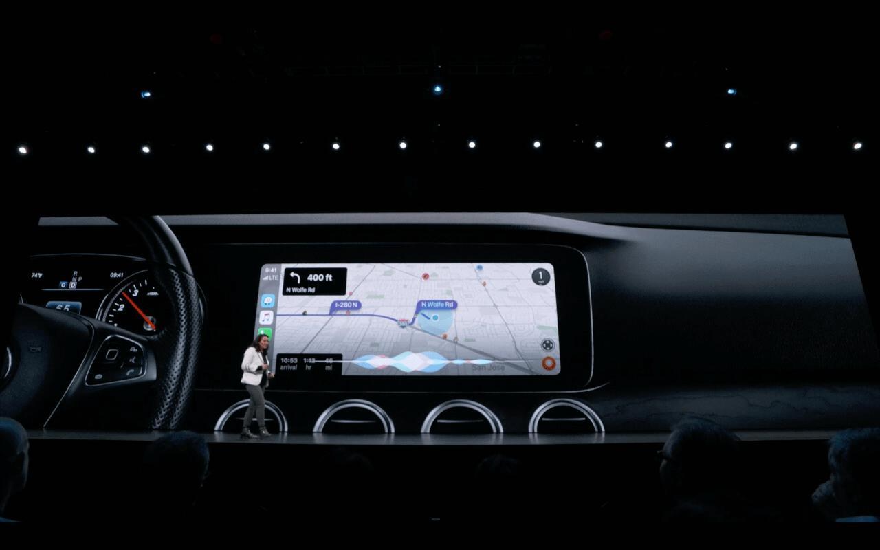Apple iOS 13-CarPlay