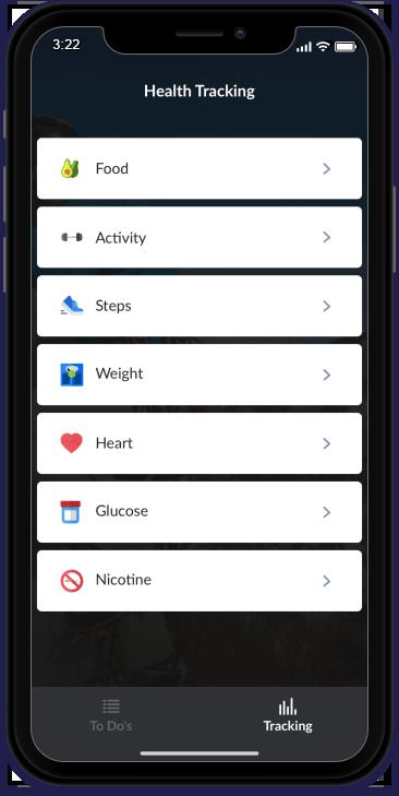 HealthTracking iOS Application